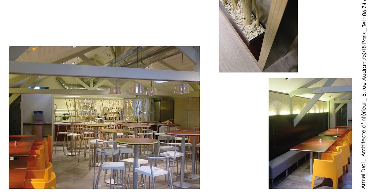 armel tual architecte d 39 int rieur cfai restaurant d 39 entreprise de 90m2. Black Bedroom Furniture Sets. Home Design Ideas