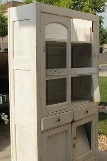 Willow Creek Antique Pie Safe Cupboard