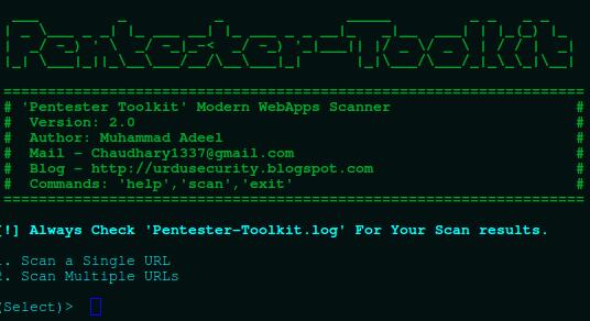 Web Vulnerability Scanner