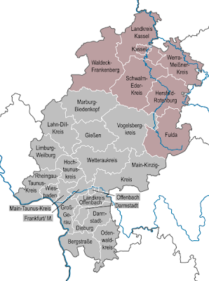 Hessen Karte Bundesländer