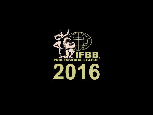 Calendário de competições 2016 da IFBB Pro. Foto: Divulgação