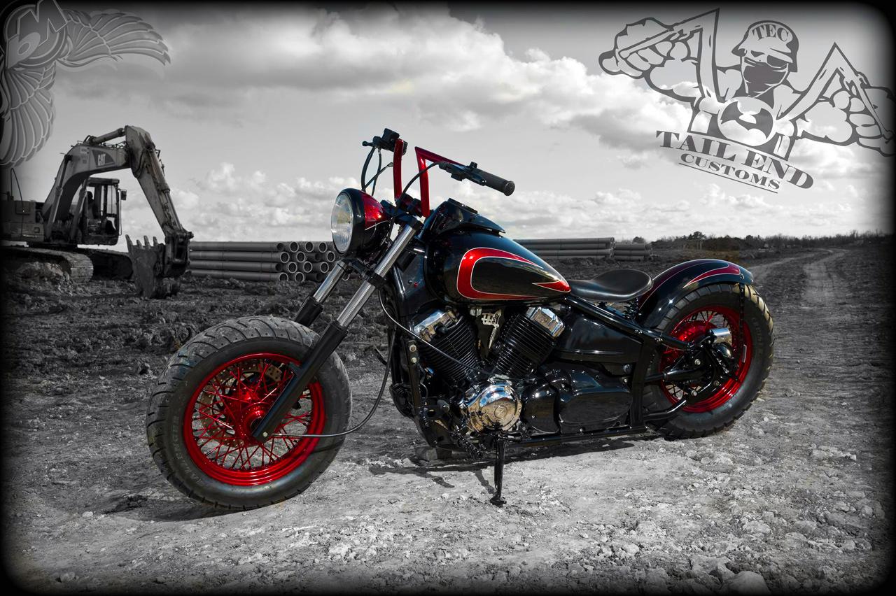 Bikermetric com yamaha vstar tailend customs autos post for Yamaha v star 650 custom bobber kit