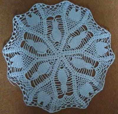 crochet, cat, doily