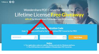 Wondershare PDF Converter மென்பொருள் வெகுமதி