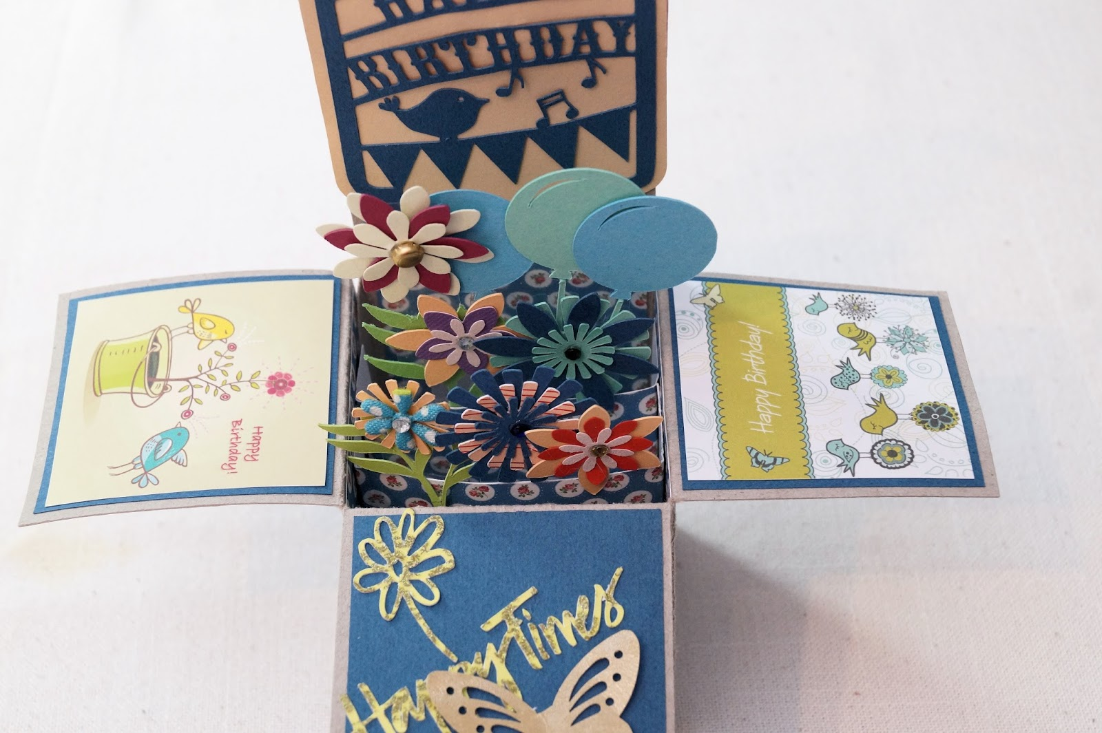 Pop up box geburtstagskarte - Geburtstagskarte pop up ...
