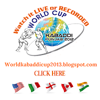 Watch Live 4th Kabaddi World Cup 2013 Here