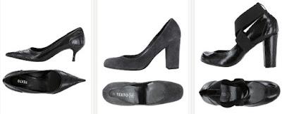 Zapatos de marca Texto baratos