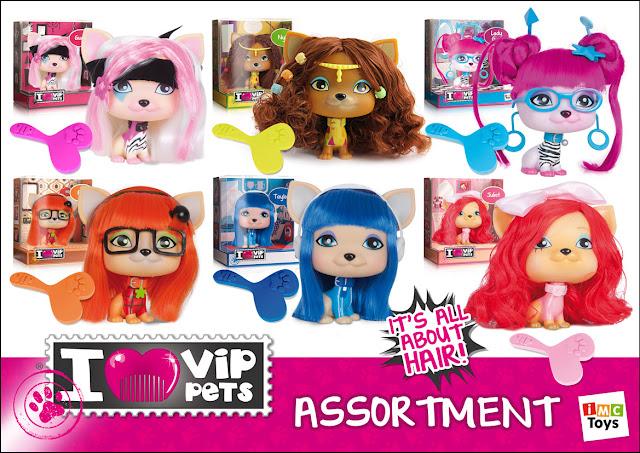 I Love VIP Pets, IMC Toys, Puppy Dolls