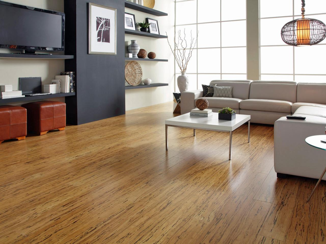 Modern laminate floor design with contemporary interiors for Modern flooring ideas