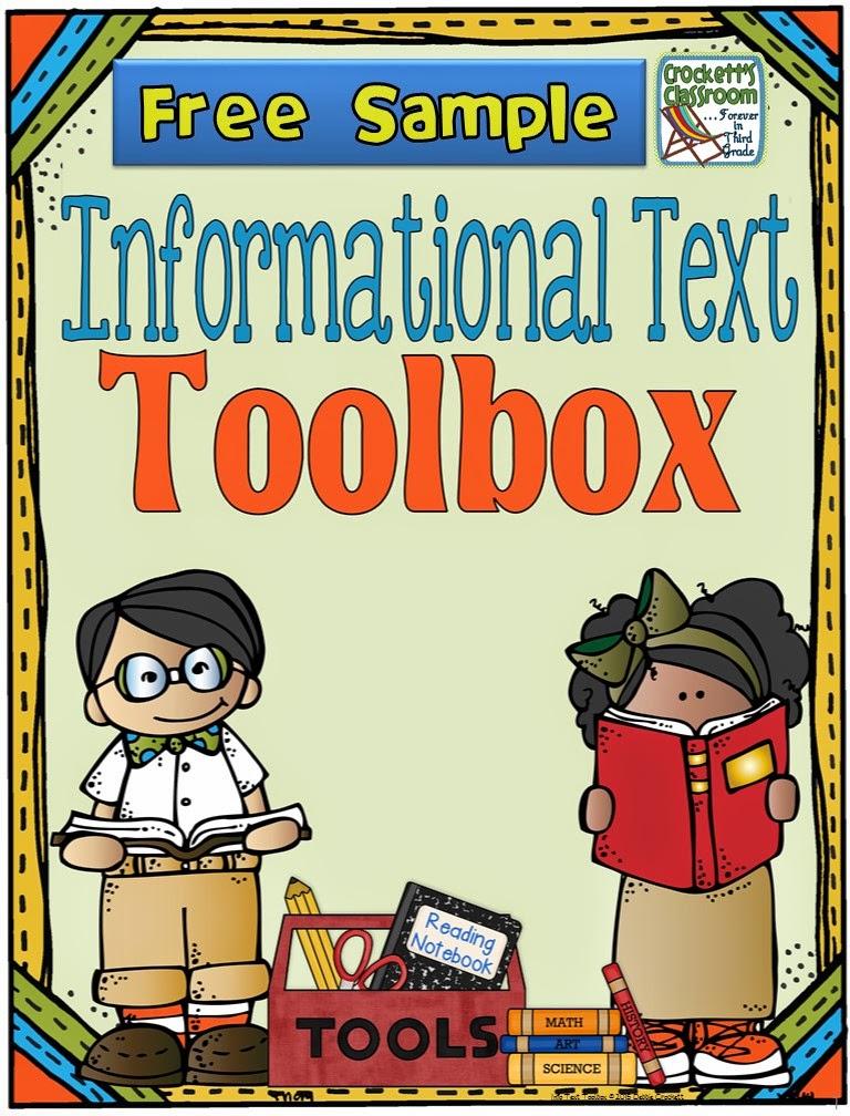 Informational Text Toolbox ---Crockett's Classroom