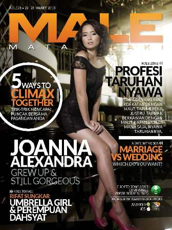 MALE Edisi 021 - Joanna Alexandra