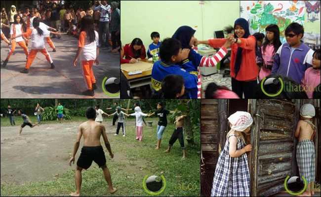 10 Permainan Tradisional Khas Anak Indonesia