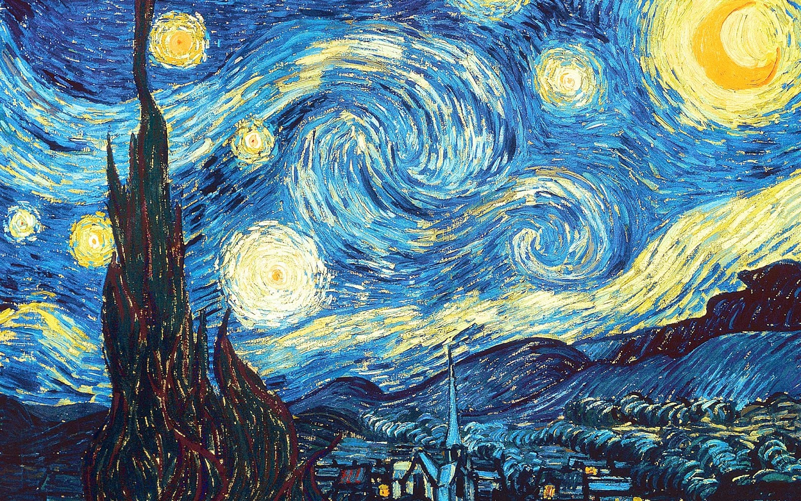 starry night A magic potion returns artist vincent van gogh back to life and lands him in the center of the rose bowl parade in this oddball comedy of course, no one believes who he is and he is.