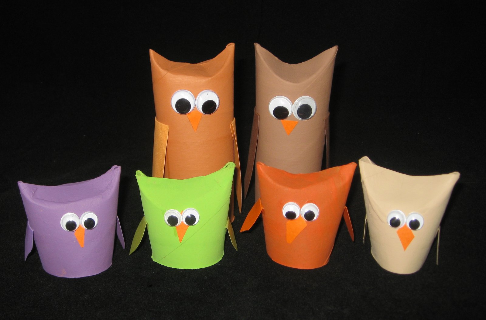 Cindy derosier my creative life toilet paper roll owls toilet paper roll owls jeuxipadfo Images