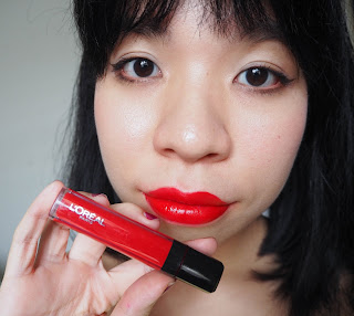 L'oreal Paris Infallible Mega Gloss in 402 Forgive My Sin (matte)