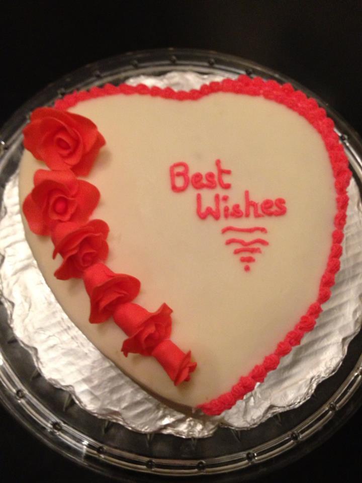 CakeArtGallerybyJinu: Wedding Anniversary cake/ heart ...