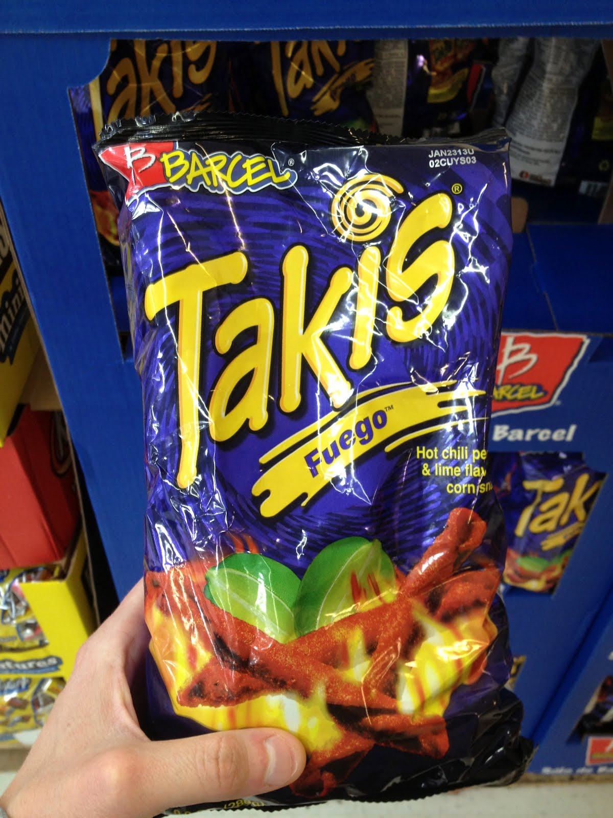 The Tangeman Family Blog Hot Cheetos Takis