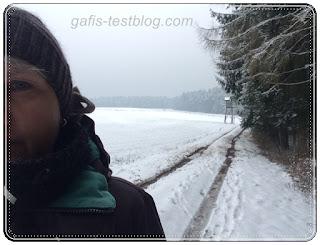 Selfie im Winter