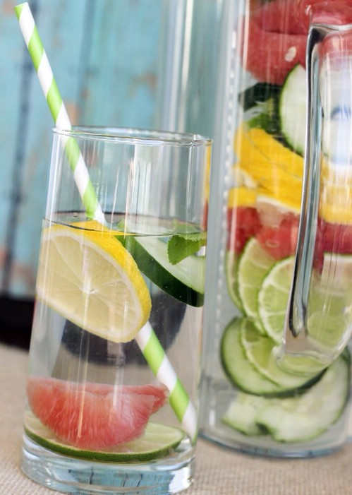 10 Delicious Detox Waters to Cleanse Your Body and Burn Fat