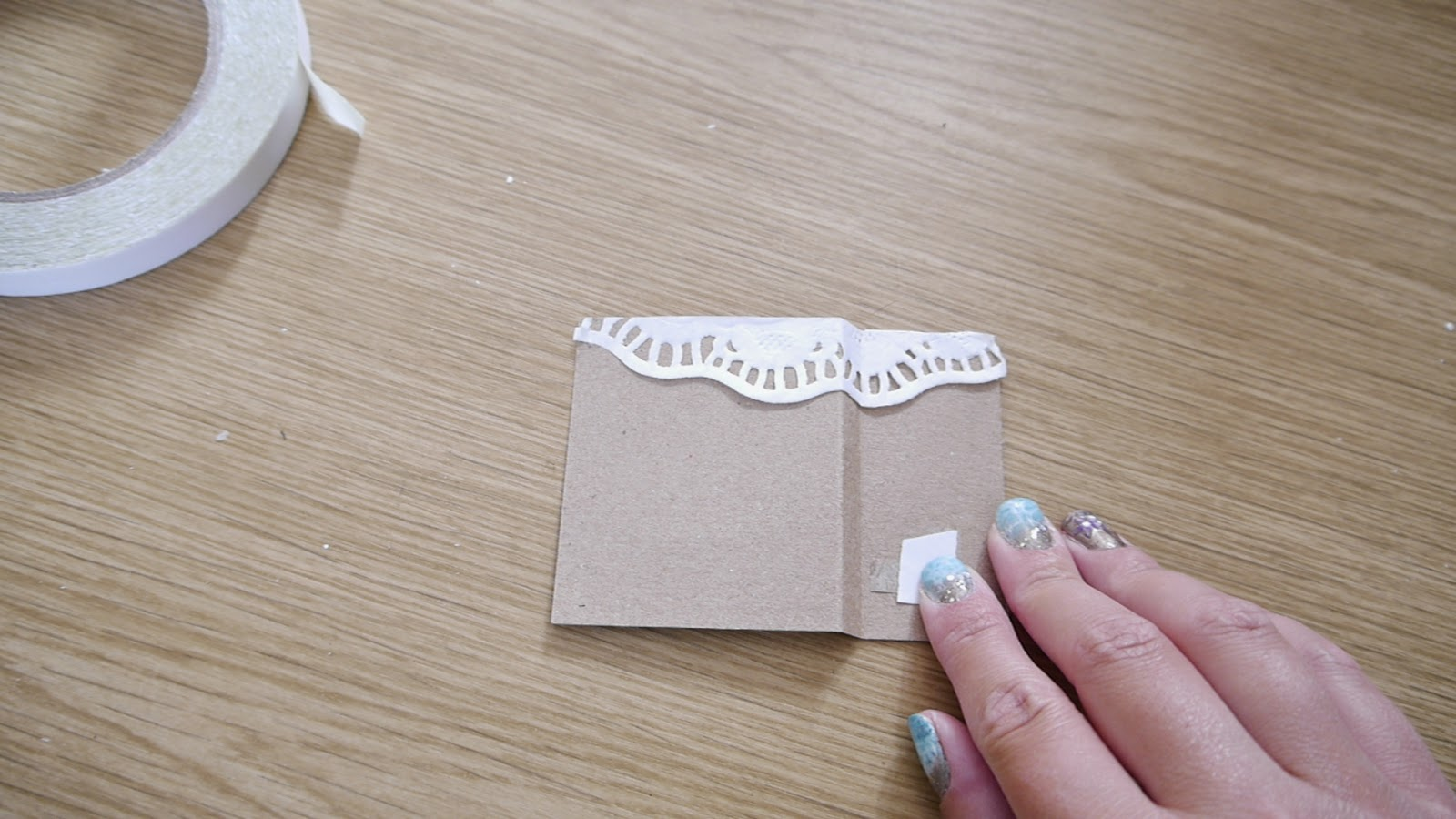how to make rustic wedding place card