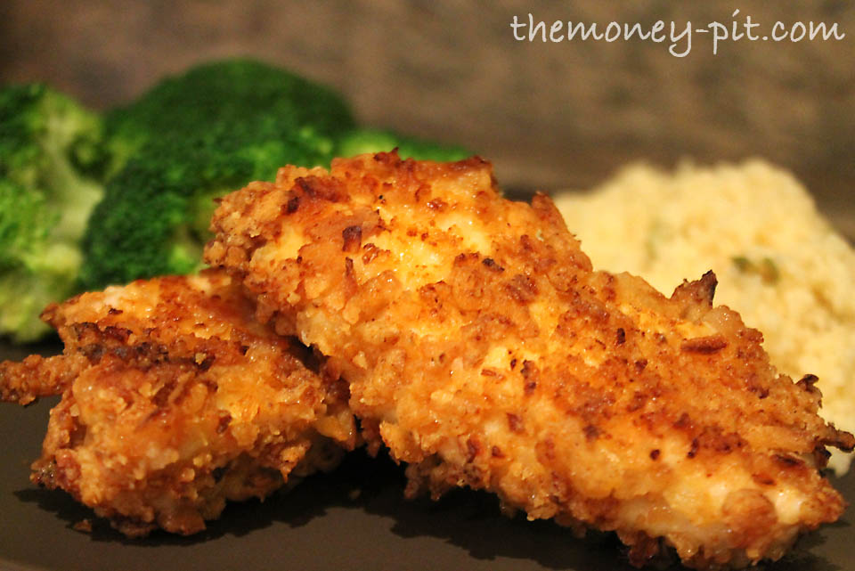 Onion crusted chicken recipe