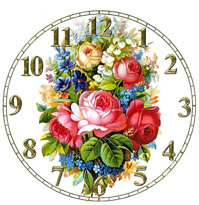 Plantilla para reloj de pared para imprimir imagui - Relojes para decorar paredes ...
