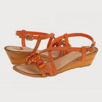 Sandale casual dama Gioseppo Nilda orange