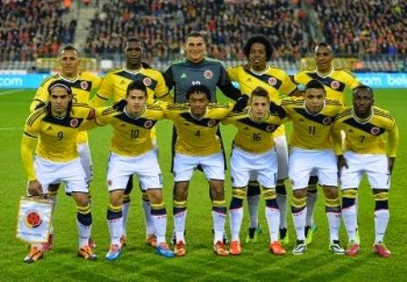 Kolombia vs Yunani