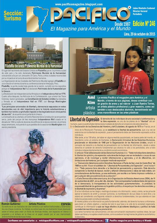Revista Pacífico Nº 246  Turismo