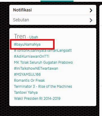 Jasa Trending Topics Twitter dan Jual script Trending topics Murah dan Terpercaya