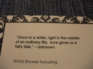 Bridal Shower Quotes