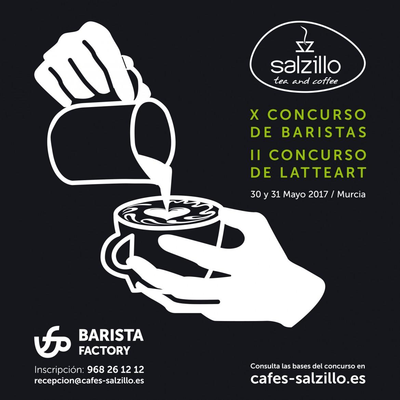 Abierto el plazo de inscripción para los concursos de baristas de Salzillo Tea and Coffee