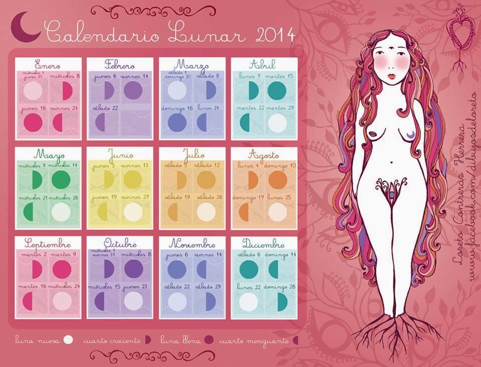Alquimizando Tu Luna: Calendarios Lunares