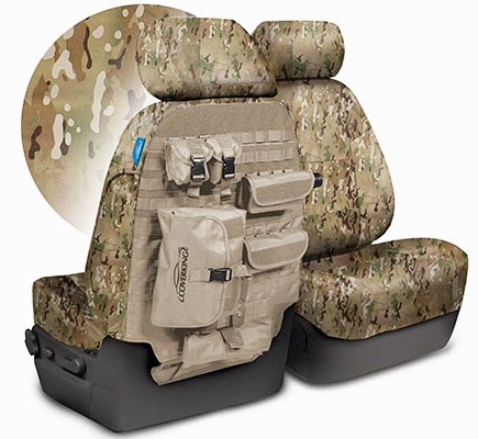 coverking multicam tactical ballistic Molle seat covers