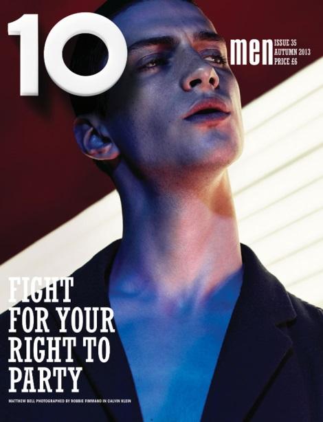 Matthew Bell by Robbie Fimmano for 10 Men Magazine