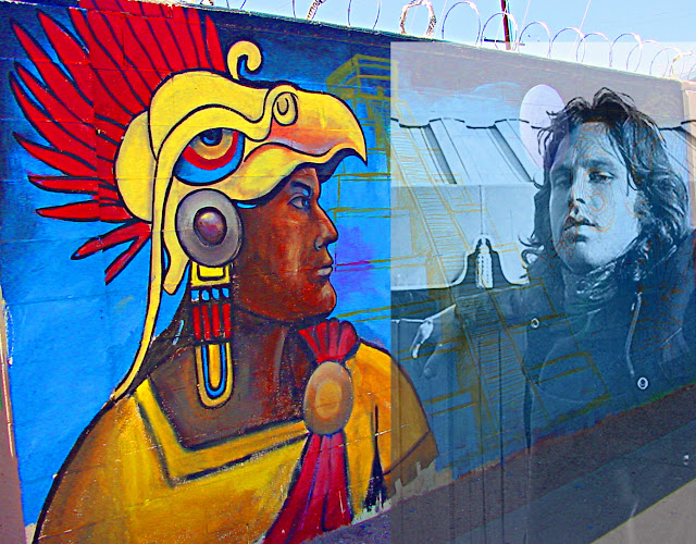 jim morrison, albuquerque graffiti