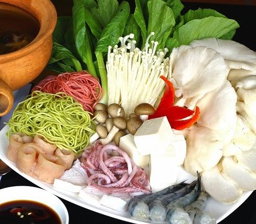 Mushroom Hotpot (Lau Nam)2