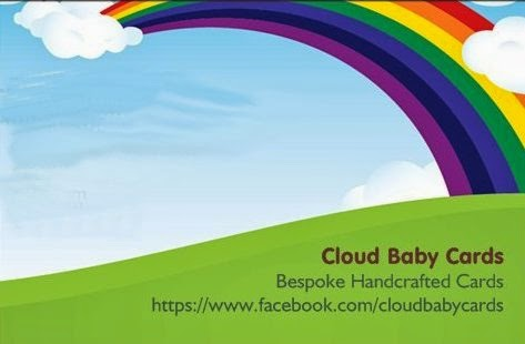 CLOUD BABY CARDS By Elaine
