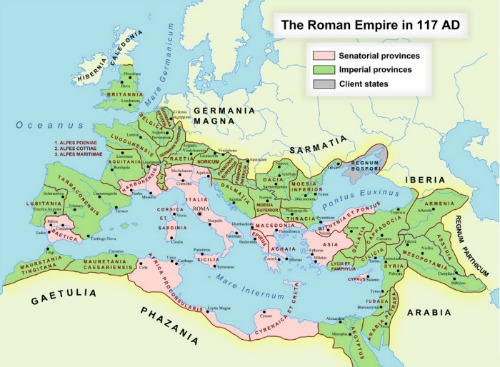 THE ROMAN WORLD INTERACTIVE MAP