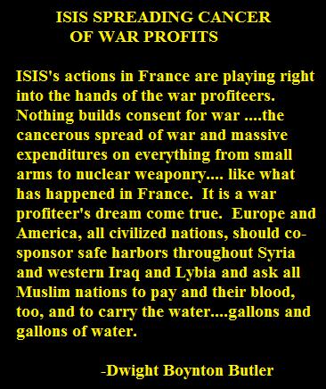ISIS WAR RACKETEERING