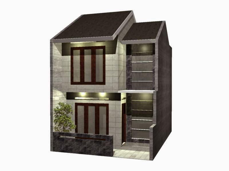 gambar rumah minimalis type 21 2 lantai, contoh rumah minimalis type 21 2 lantai