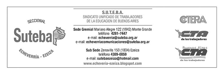 SUTEBA ECHEVERRIA-EZEIZA
