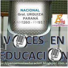 """VOCES EN EDUCACIÓN. """"La Radio en la Escuela"""""""