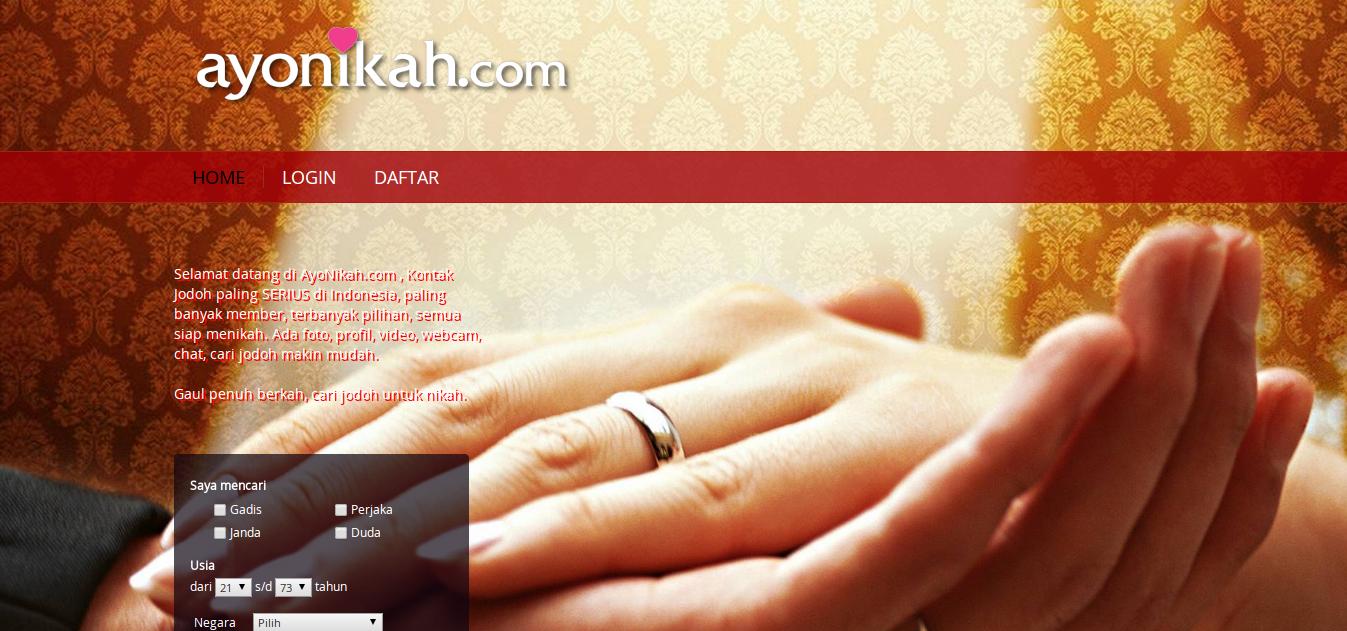 Website untuk mencari teman kencan, pacar hingga jodoh