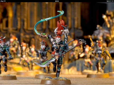 Dark Eldar Troops Choices, Court of the Archon, and a New Weapon for the Succubus