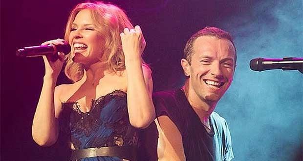 Canlı: Coldplay & Kylie Minogue