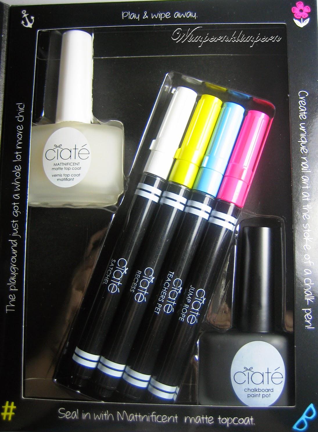 Ciaté Chalkboard Manicure Inhalt