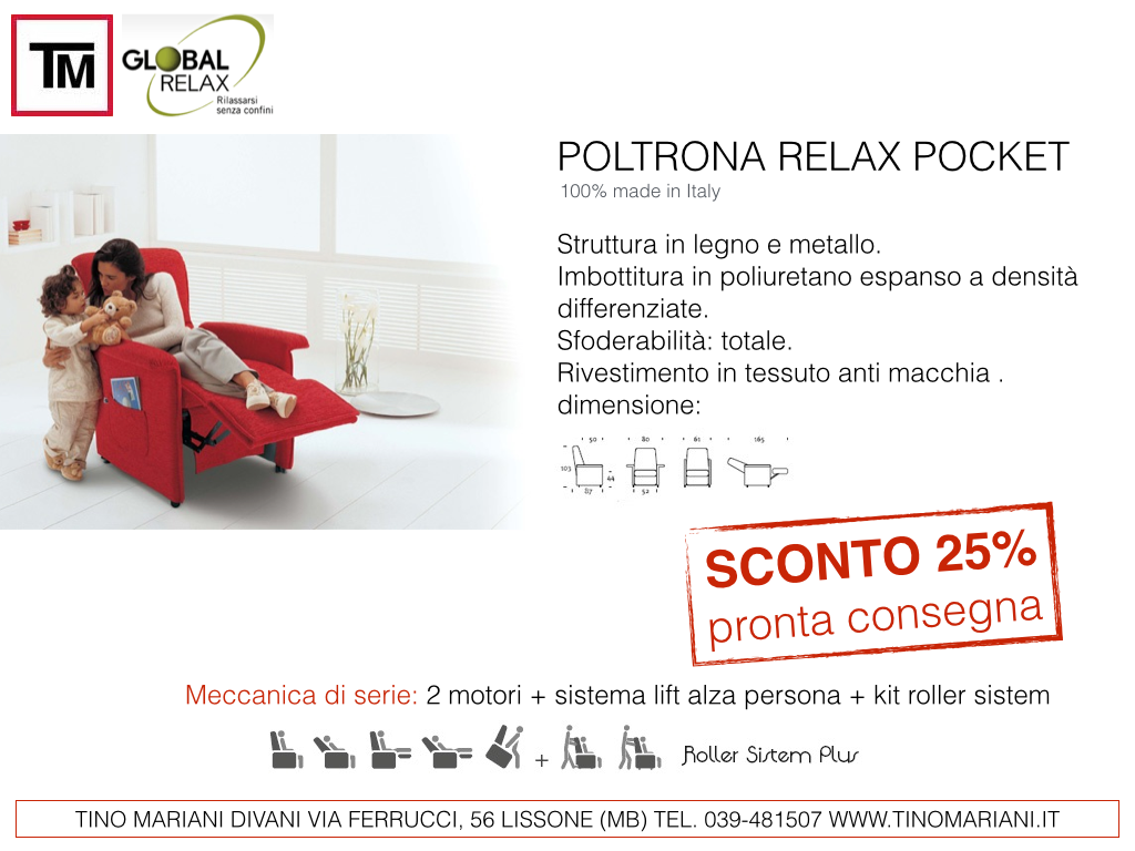 Divani blog - Tino Mariani: Offerte poltrone relax