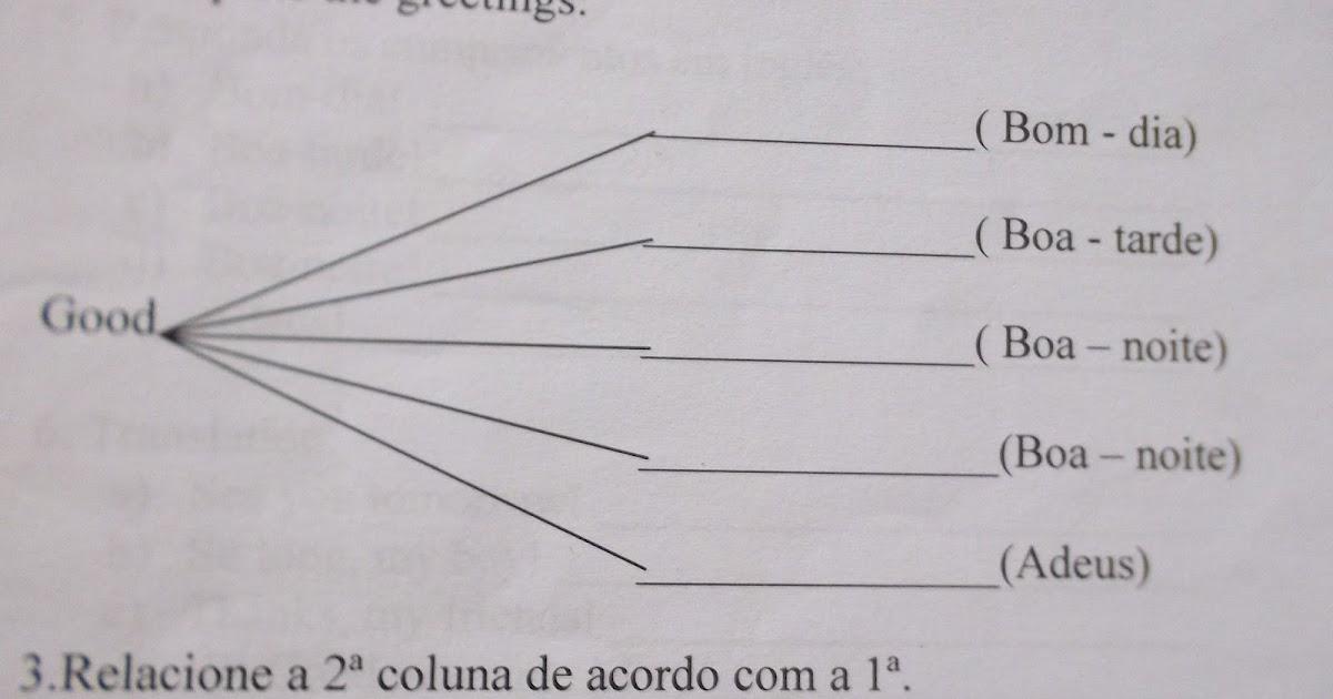 O Que é Good Morning Everyone Em Portugues : Projeto juntando os livros exercises greetings