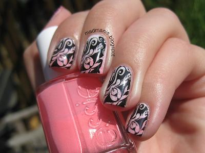 Konad gradient nail art